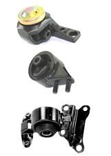 1992-1994 Mazda MX-3 1.8L A/T or M/T Engine and Transmission Mounts 3pc Kit