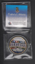 New York Yankees 2008 Last Season Opening Day Lineup Gold Plated Half Dollar