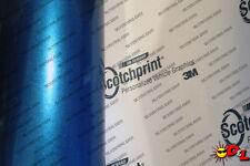 "3M 1080 Scotchprint Gloss Blue Metallic Wrap Film 12""x36"" 3 sq. ft. G227"