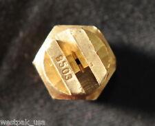 "Brass NOZZLES - Set of 4 - 1/4"" 9503 VJet"