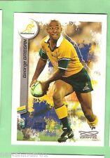 2003  RUGBY UNION CARD  #83  GEORGE GREGAN, AUSTRALIAN WALLABIES