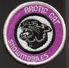 Arctic Cat Snowmobile Patch Sled Badge #2 Factory Logo Vintage! Original 1970's