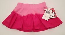 Hello Kitty Skirt 2T Two Tone Pink Cotton Bling Sparkle Undershorts New NWT