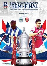 * ARSENAL v WIGAN ATHLETIC - 2014 FA CUP SEMI-FINAL - MINT PROGRAMME *