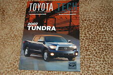 2007 Toyota Tundra Mechanic Technician Magazine Repair Information BRAND NEW