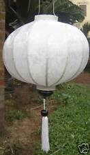 Lampion Seide lampen (Weiß)