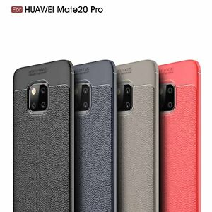 Ultra Thin Luxury PU Leather Soft TPU Shockproof Case For Huawei Mate 20 Pro