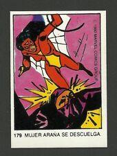 Spider-Woman 1980 Marvel Comics Spanish Chocolate Card #179