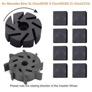 Central Lock Vacuum Pump Motor Impeller for Mercedes Benz SL S CL R230 W220 C215