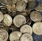 Внешний вид - WWI German Button 1910 with Brass finish, 18MM buttons by the each
