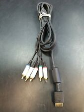 Official Genuine Sony Playstation 2 3 PS2 PS3 Authentic HD Component GOLD Cable
