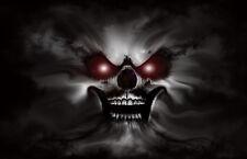 """5.75"""" Eerie cloud evil dark vinyl sticker decal motorcycle guitar helmet custom"""