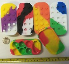 100pcs - 6+1 Silicone  Nonstick Containers Mixed Colors Wholesale Lot