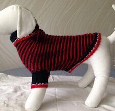 Handknit woolblend dog sweater/pet fashion/dog clothing/small dog sweater