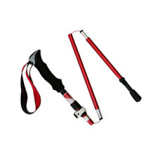 Trekking Walking Hiking Stick Pole Alpenstock Anti-shock Adjustable short
