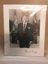 Vintage Autograph Picture Of Ronald Reagan