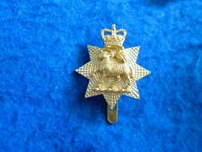 More details for the queens royal surrey regiment two part  anodised staybrite cap badge, gaunt