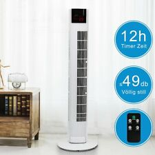 Turmventilator 91,5 cm inkl. FERNBEDIENUNG Säulenventilator Standventilator Weiß