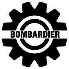 "#3151 (2) 2"" Bombardier Aircraft Can Am Decal Sticker Laminated Outdoor"