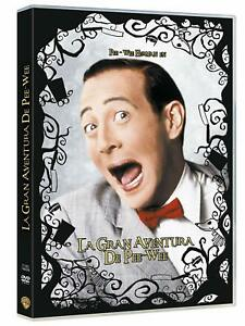 Pee-wee's Big Adventure -Tim Burton La Gran Aventura De Pee Wee New Region 2 DVD