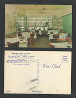 1970s NEW PERRY HOTEL COFFEE SHOP PERRY GA POSTCARD