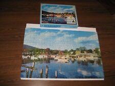 VTG. WARREN PAPER PRODUCTS SEASCAPES PICTURE PUZZLE #1260  500 PC MAINE HARBOR