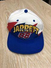 Vintage Dale Jarrett 88 Snapback Hat Cap Nascar Ford Race