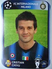 Panini 10 cristian chivu FC Internazionale uefa cl 2010/11