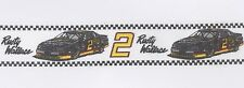 "Rusty Wallace Winston Cup Racing Grosgrain Ribbon Trim 1 1/2"" Wide By The Yard"