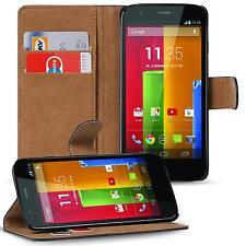 Klapptasche für Motorola Moto G 1 Gen. Handy Hülle Case Flip Cover Wallet Etui