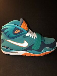 Nike Air Bo Jackson Trainer SC II QS NFL Miami Dolphins Size 10.5 614640-300 New