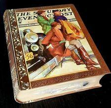 Vintage Secret Storage Book Box - SUNDAY EVENING POST USA - 50yrs old - UNUSED