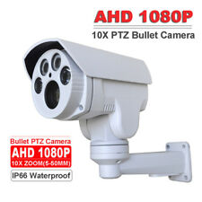 "CCTV Security AHD 1080P PTZ Bullet Camera 1/2.8"" CMOS 5-50MM LENS 10X ZOOM IR60M"