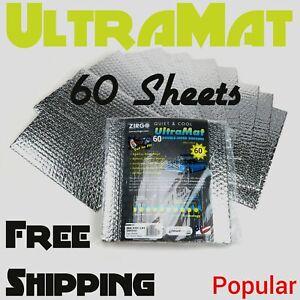 Dodge SRT 60 SqFt UltraMat Heat & Sound Barrier 60 12 x 12 Tiles xl