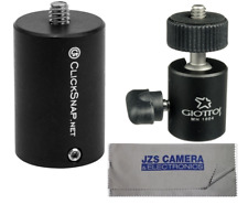 ClickSnap ProPole Painter's Pole Adapter with Giottos Mini Ball Head & Cloth