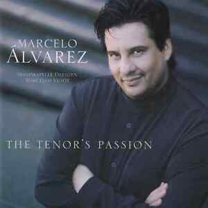 MARCELO ALVAREZ The Tenor´s Passion CD Album 2004 NEUWARE STAATSKAPELLE DRESDEN