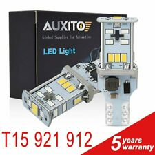 2X Auxito High Power T15 921 912 Led W16W Backup Reverse Light Bulb 6000K 2000Lm(Fits: Neon)