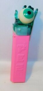 Vintage Psychedelic Hand Crystal PEZ Dispenser 1990's Reissue CLEAR AQUA HAND