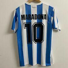 Maillot ARGENTINE MARADONA 1986 RETRO / Taille : S,M,L,XL,XXL / Le Coq Sportif