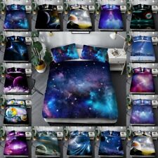 3 Piece Quilt CoverHippie Starry Sky Cover Comforter Quilt Bed Cover Bedding Set