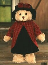 "SETTLER BEARS HEIDELBERG COLLECTION CLAIRE 17"" PLUSH JOINTED TEDDY BEAR - BNWT"