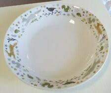 Cooksmart Woodland Collection Pasta / Serving Bowl, hare, pheasant, fox etc