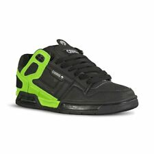 Osiris Peril Skate Shoes - Black / Lt. Grey / Lime