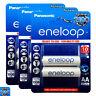 6 x Panasonic Eneloop AA batteries 1900mAh Rechargeable Ni-MH Accu LR06 BK-3MCCE