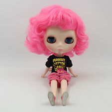 "Takara 12"" Neo Blythe Short Hair Nude Doll from Factory TBY146"