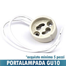 PORTALAMPADA CERAMICA GU10