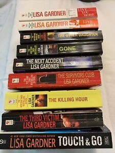 Lisa Gardner - Lot Of 9 Books