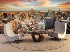 New York City View USA Huge Photo Wall Paper Mural 366x254cm 12'1x8'4ft