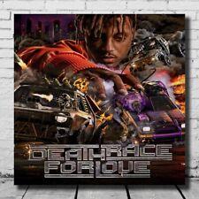 N810 Juice WRLD Death Race For Love Cover Album 24x24 20 Silk Poster