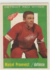 1959 59-60 Topps #44 Marcel Pronovost NM